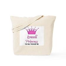 Israeli Princess Tote Bag