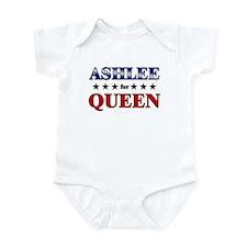 ASHLEE for queen Onesie