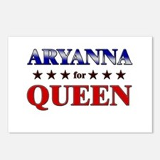 ARYANNA for queen Postcards (Package of 8)