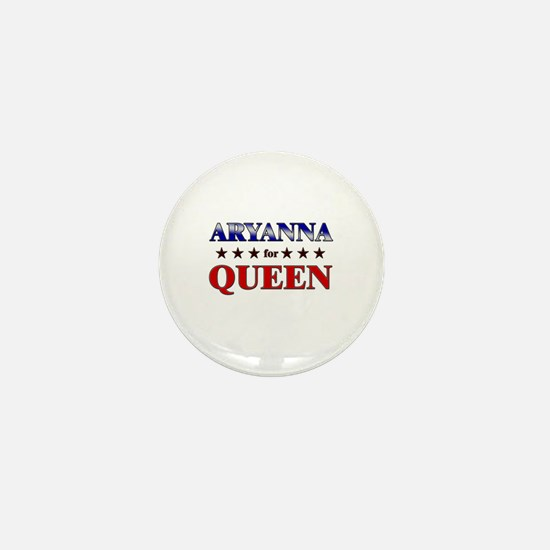 ARYANNA for queen Mini Button