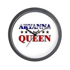 ARYANNA for queen Wall Clock