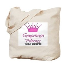 Guyanese Princess Tote Bag