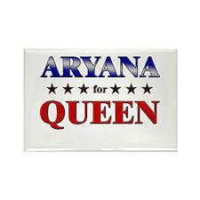 ARYANA for queen Rectangle Magnet