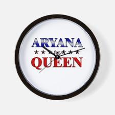 ARYANA for queen Wall Clock