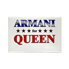 ARMANI for queen Rectangle Magnet