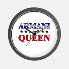ARMANI for queen Wall Clock