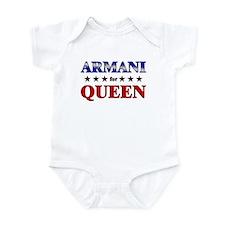 ARMANI for queen Infant Bodysuit