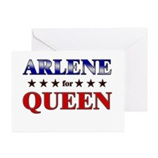 ARLENE for queen Greeting Cards (Pk of 20)
