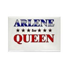 ARLENE for queen Rectangle Magnet