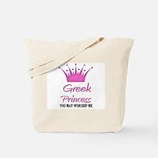 Greek Princess Tote Bag