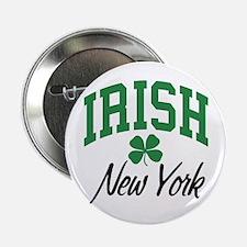 "New York Irish 2.25"" Button"