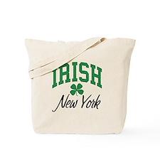 New York Irish Tote Bag