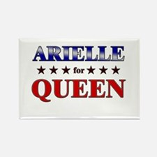 ARIELLE for queen Rectangle Magnet