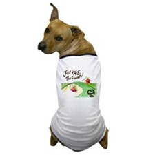 In The Sand Trap Dog T-Shirt