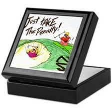 In The Sand Trap Keepsake Box