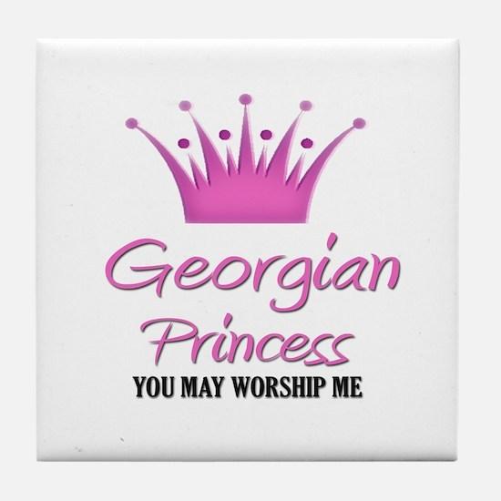 Georgian Princess Tile Coaster