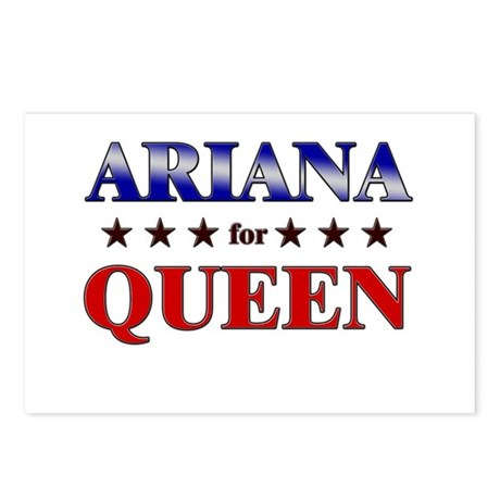 ARIANA for queen Postcards (Package of 8)
