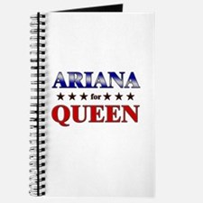 ARIANA for queen Journal