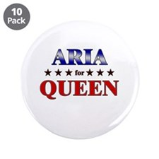 """ARIA for queen 3.5"""" Button (10 pack)"""