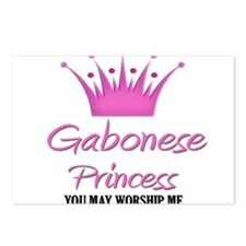 Gabonese Princess Postcards (Package of 8)