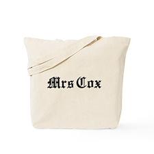 Mrs Cox Tote Bag