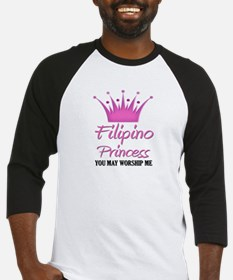 Filipino Princess Baseball Jersey