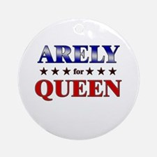 ARELY for queen Ornament (Round)