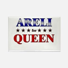 ARELI for queen Rectangle Magnet