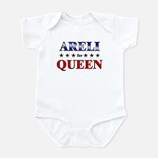 ARELI for queen Infant Bodysuit