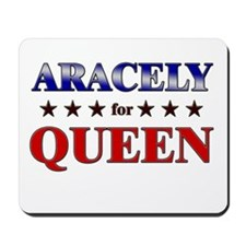 ARACELY for queen Mousepad