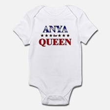 ANYA for queen Infant Bodysuit