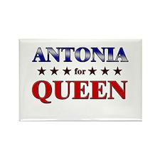 ANTONIA for queen Rectangle Magnet