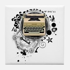 Alchemy of Writing Tile Coaster