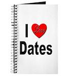 I Love Dates Journal