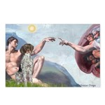 Creation / Ger SH Pointer Postcards (Package of 8)