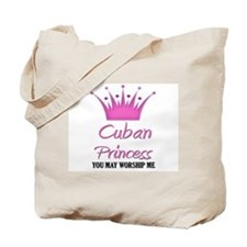 Cuban Princess Tote Bag