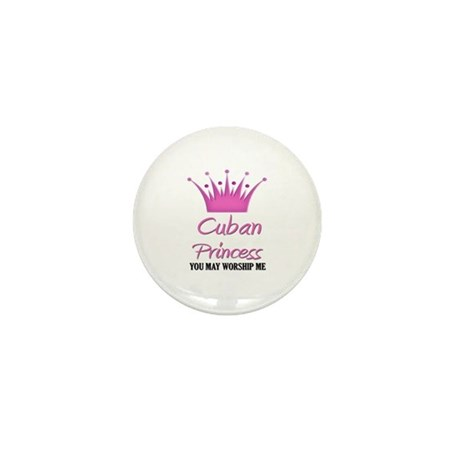 Cuban Princess Mini Button (10 pack)