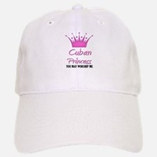 Cuban Princess Baseball Baseball Cap