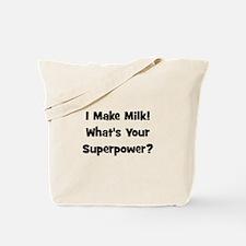 I Make Milk What's Your Super Tote Bag
