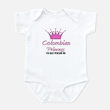 Colombian Princess Infant Bodysuit