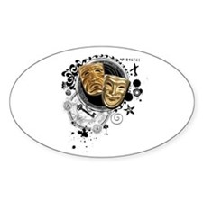 Alchemy of Theatre Production Oval Decal