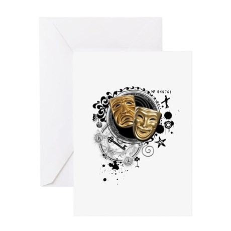 Alchemy of Theatre Production Greeting Card