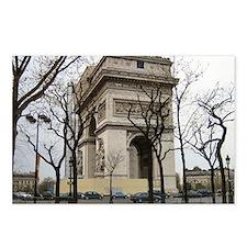 Arc de Triomphe Postcards (Package of 8)