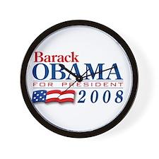 VoteWear! Obama Wall Clock