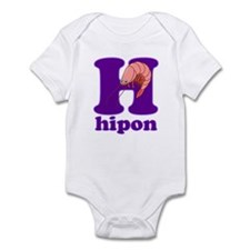 Abakada_H Infant Bodysuit