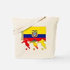 Ecuador Soccer Tote Bag