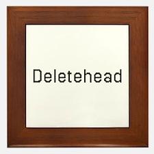 Deletehead Framed Tile