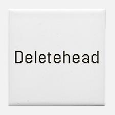 Deletehead Tile Coaster