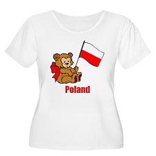 Poland Teddy Bear T-Shirt