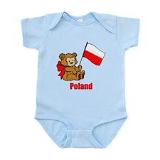 Poland Teddy Bear Onesie